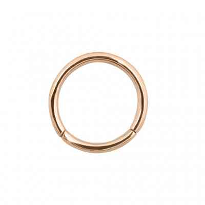 CLICKER RING ROSE GOLD PVD
