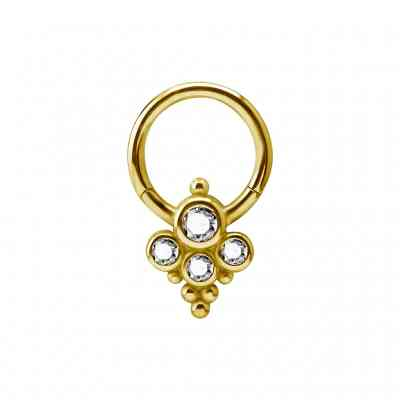 COUTURE CLICKER GOLD PVD
